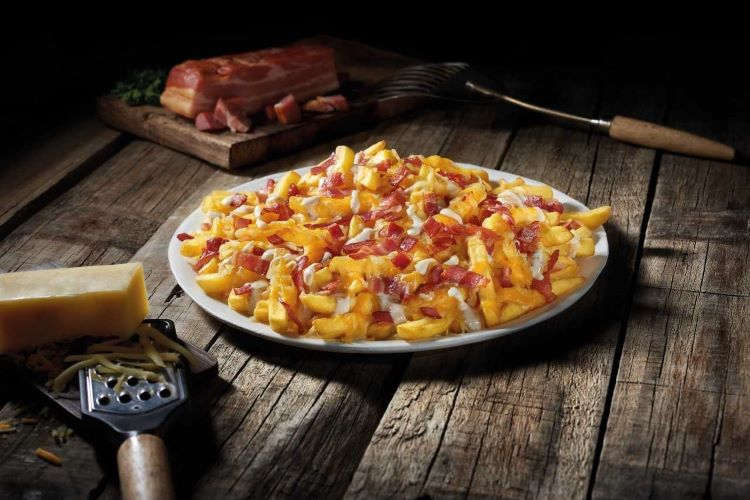 Cheese Fries Fosters
